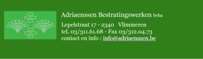 Logo Adriaenssen